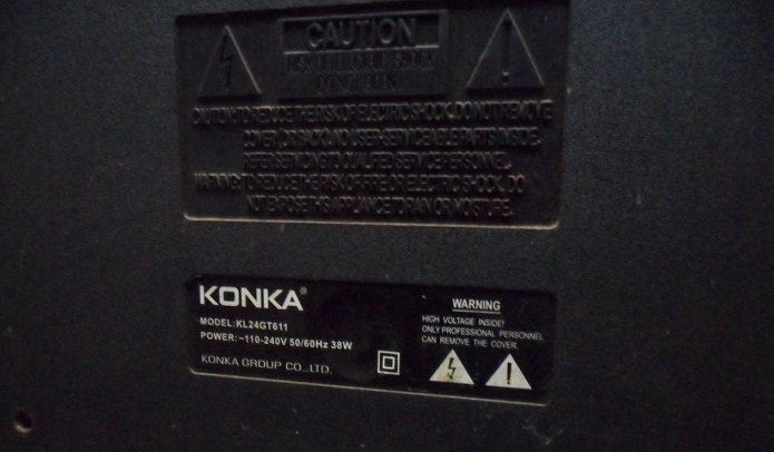 konka led tv repair