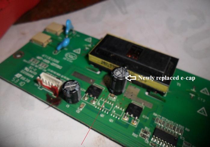 lcd inverter board problem