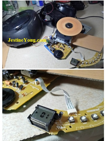 philips sound machine fix