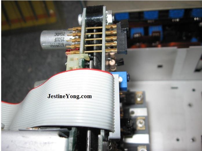 servicing tektronix scope
