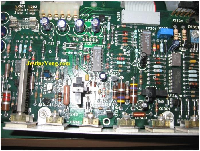 tektronix scope circuit board repair