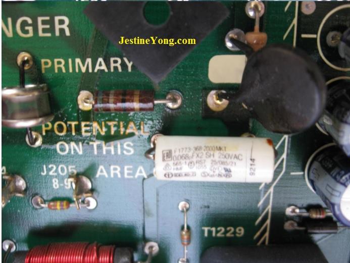 spare parts in tektronix 2564 oscilloscope