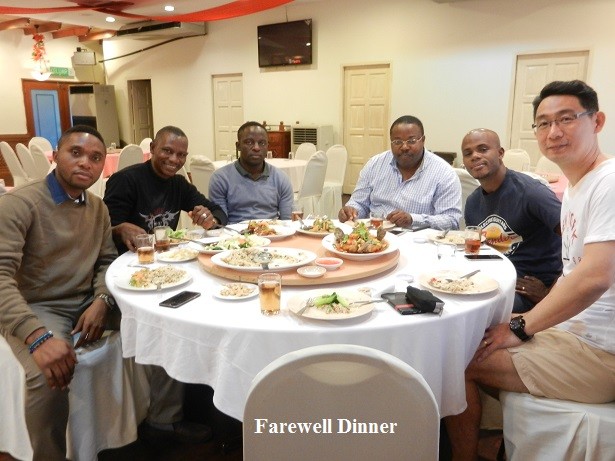 farewell dinner for students
