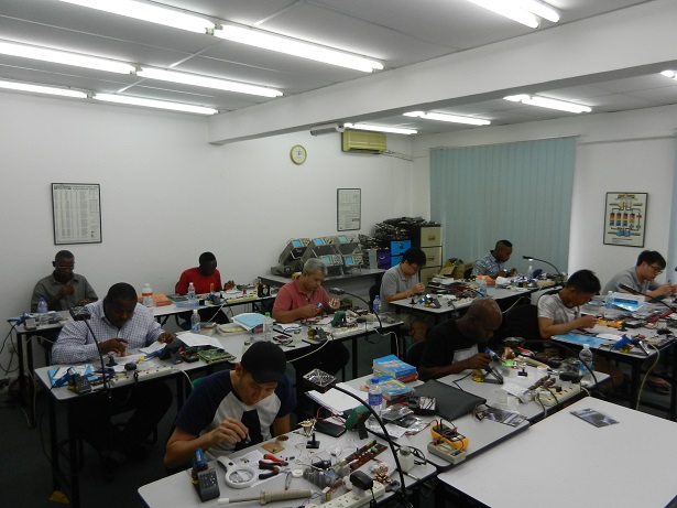 electronic course for beginners