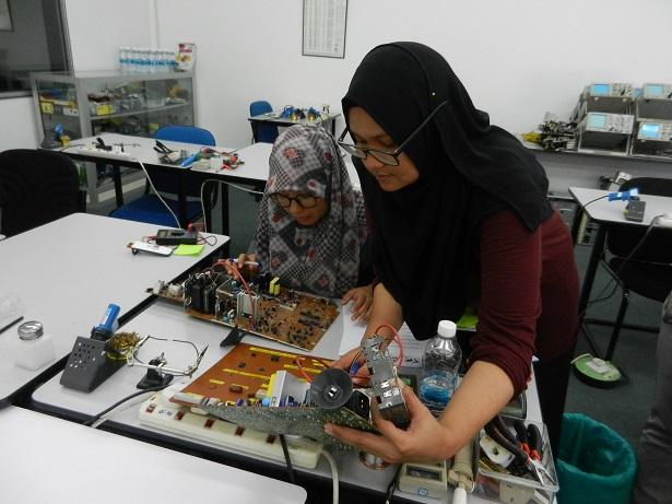 kursus kemahiran membaiki elektronik