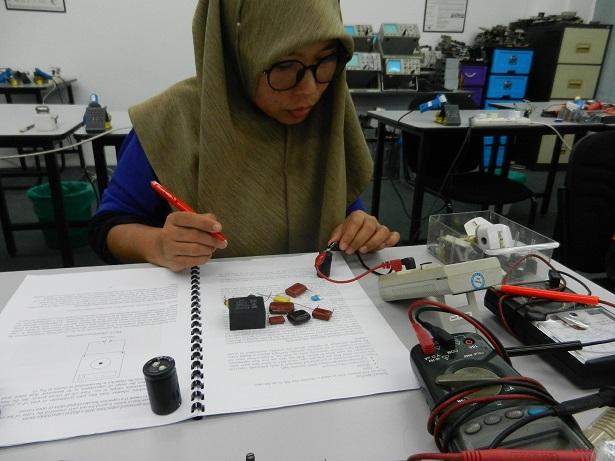 kursus belajar repair elektronik
