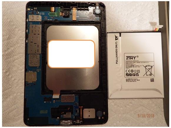Samsung Galaxy Tab A SM-T350 fix