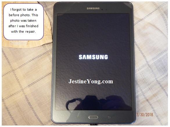 Samsung Galaxy Tab A SM-T350 repair