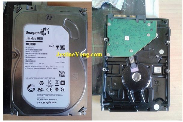hdd cannot read repair