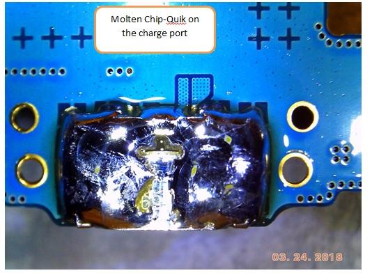 microsoldering on phone