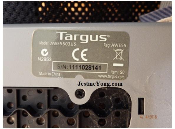 targus laptop fan repair