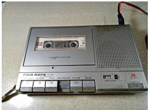 fairmate tape recorder repair