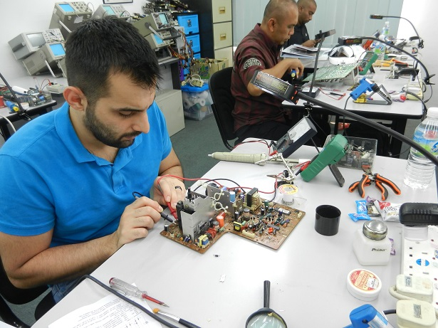how to repair electronics