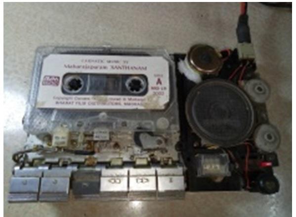 repair tape player