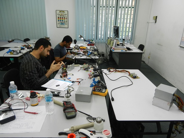 power supply repair oman
