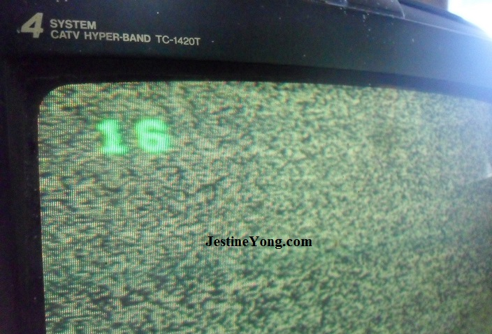 crt tv focus problem repair