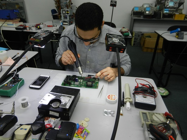 power supply repair course oman