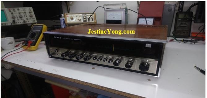 Sony SQR 6650 Repair