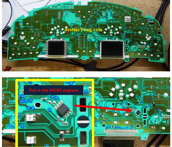 Vauxhall Vectra C PIN code hacking