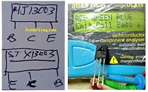 electronics drawing for repair power supply