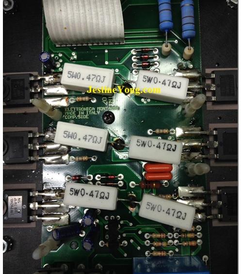 italian power speaker improvement