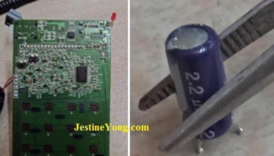 repairing telephone