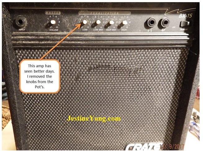 crate bx15 amplifier repair