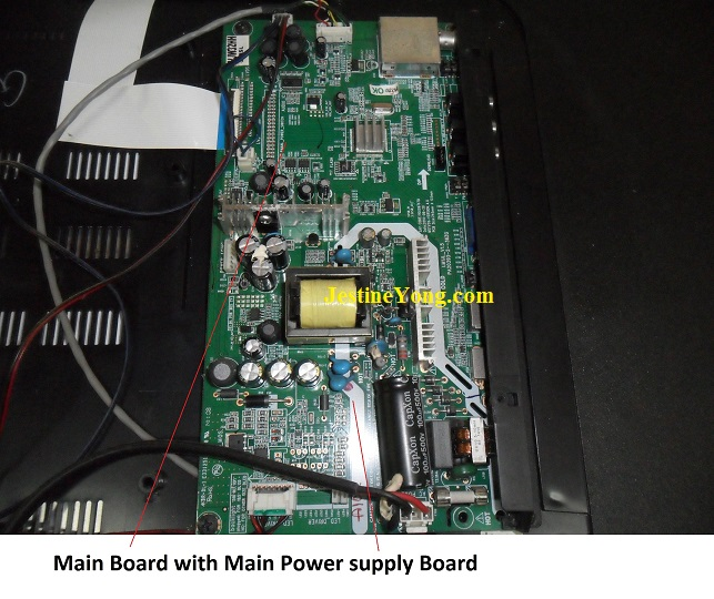 videocon led tv board