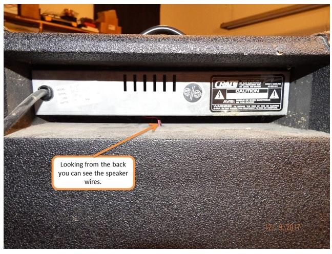 crate bx15 amplifier repairing