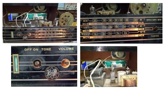 kreft valve radio repair