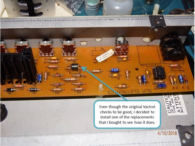 troubleshooting amplifier ic problem