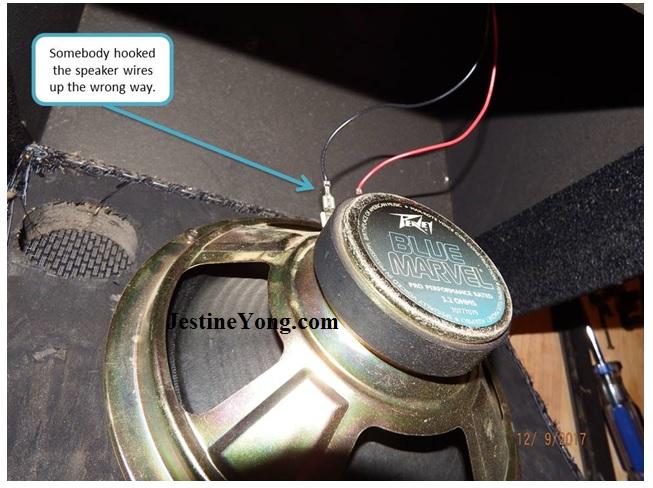 speaker checking