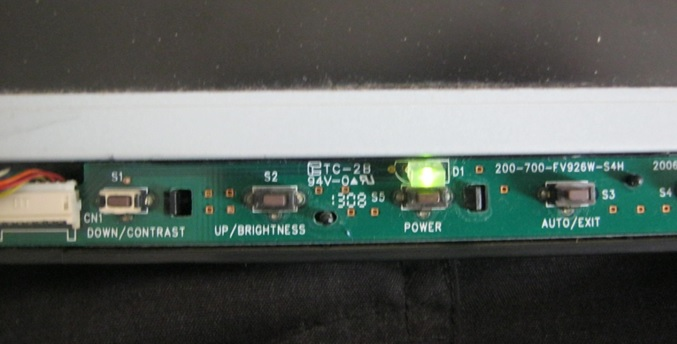 lcd monitor light