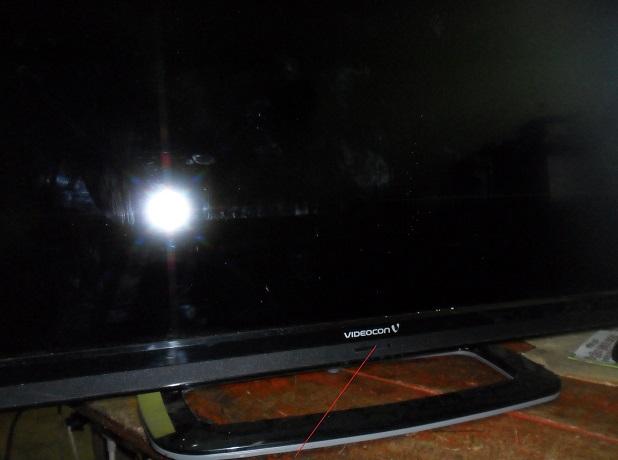 no power in videocon led tv