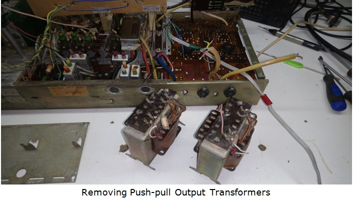 push oull output transformer