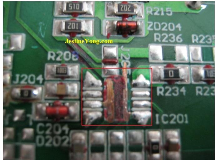 repairing lcd monitor