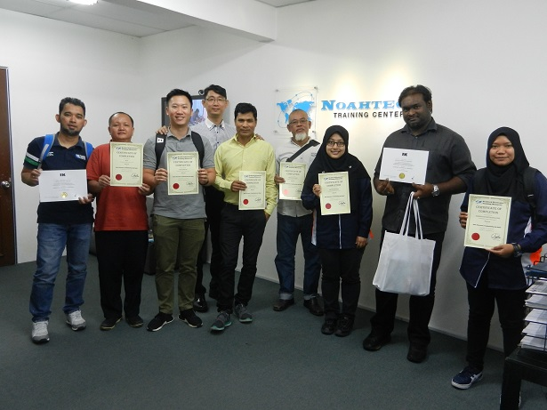 graduates from noahtech electronics training