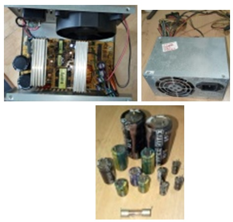 bad parts in power supply