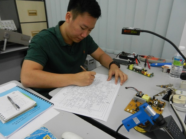 reading schematic course