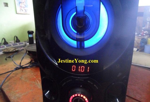 TELESONIC 5.1 Chanel Vibrate Sound repair