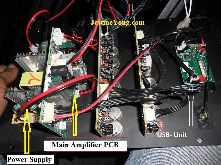 active speaker circuit board