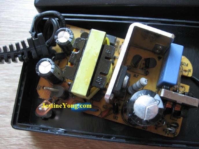 how to fix adapter 12 volt