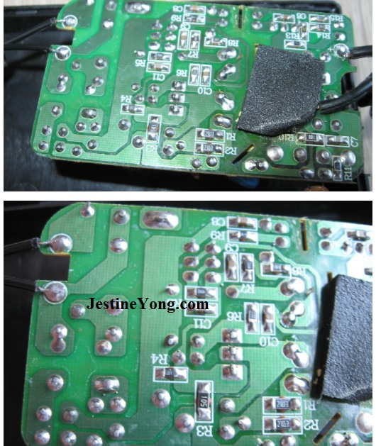 how to repair 12 volt adapter