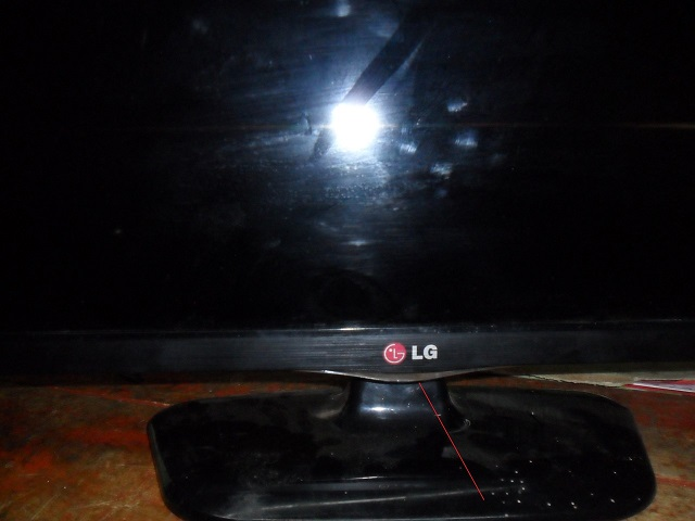 lg led no power