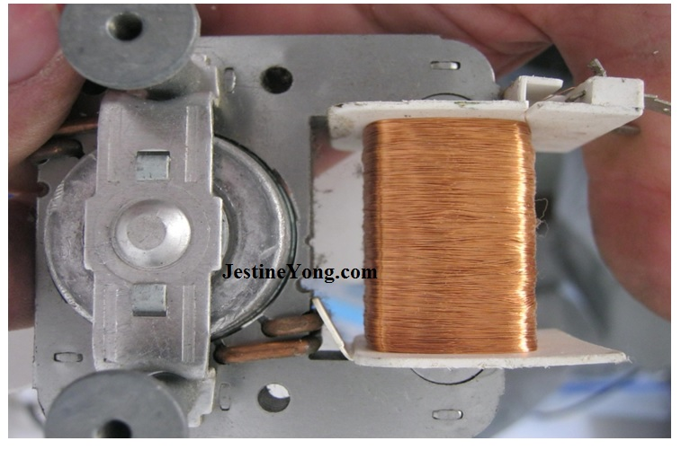 microwave oven coil winding