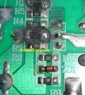 power components burnt in active speaker