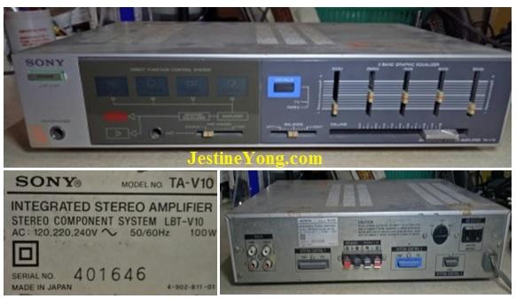 servicing amplifier