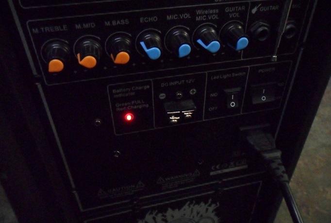 testing active speaker