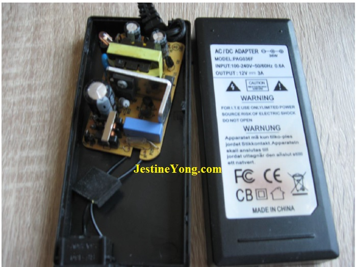 testing tank capacitor in power supply