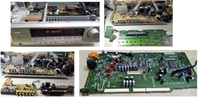 repair av receiver